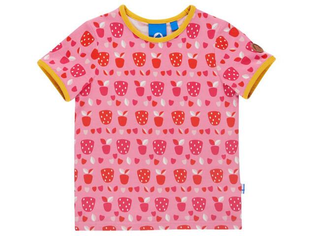 Finkid Tuumi T-Shirt SS Kids strawberry/freesia